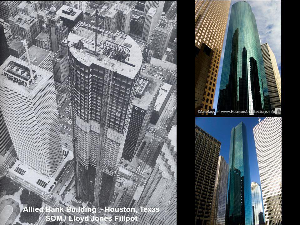 Allied Bank Building - Houston, Texas SOM / Lloyd Jones Fillpot