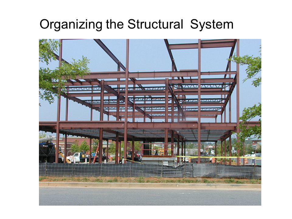 Organizing the Structural System