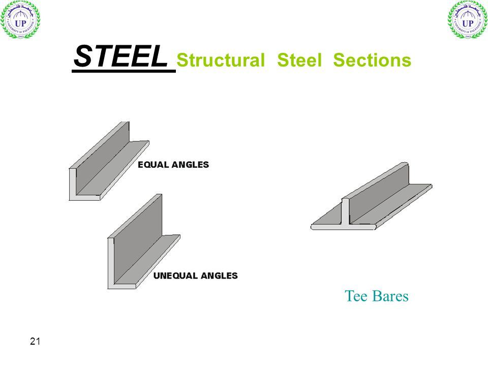 21 STEEL Structural Steel Sections Tee Bares