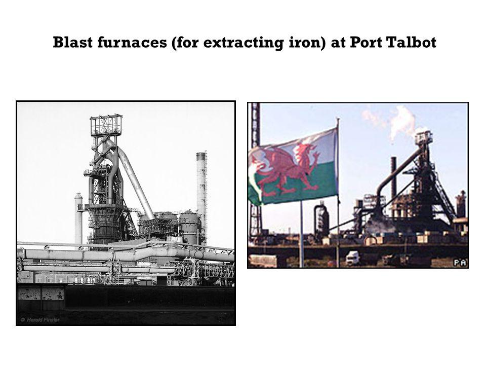 Steel Iron from the blast furnace (cast iron) is brittle since it contains about 4% carbon.