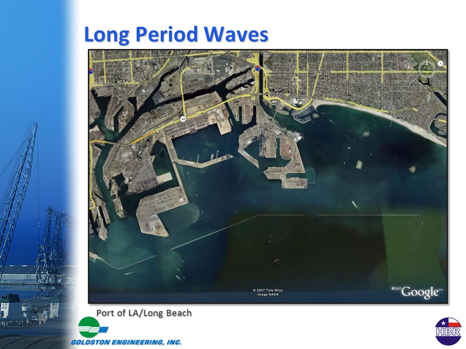 Long Period Waves Port of LA/Long Beach
