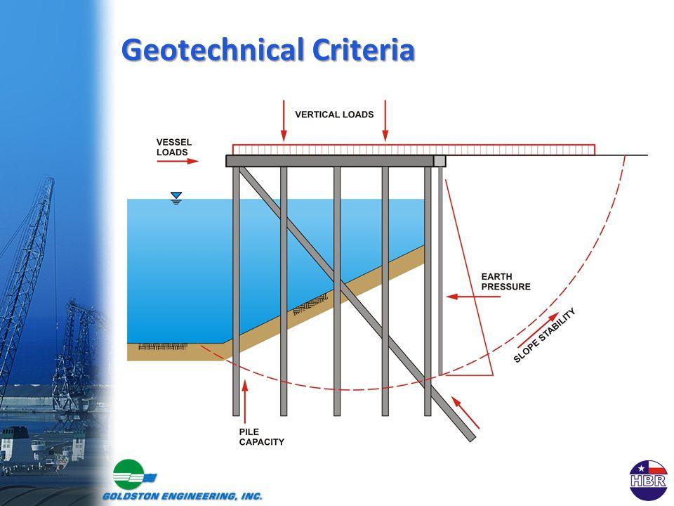 Geotechnical Criteria
