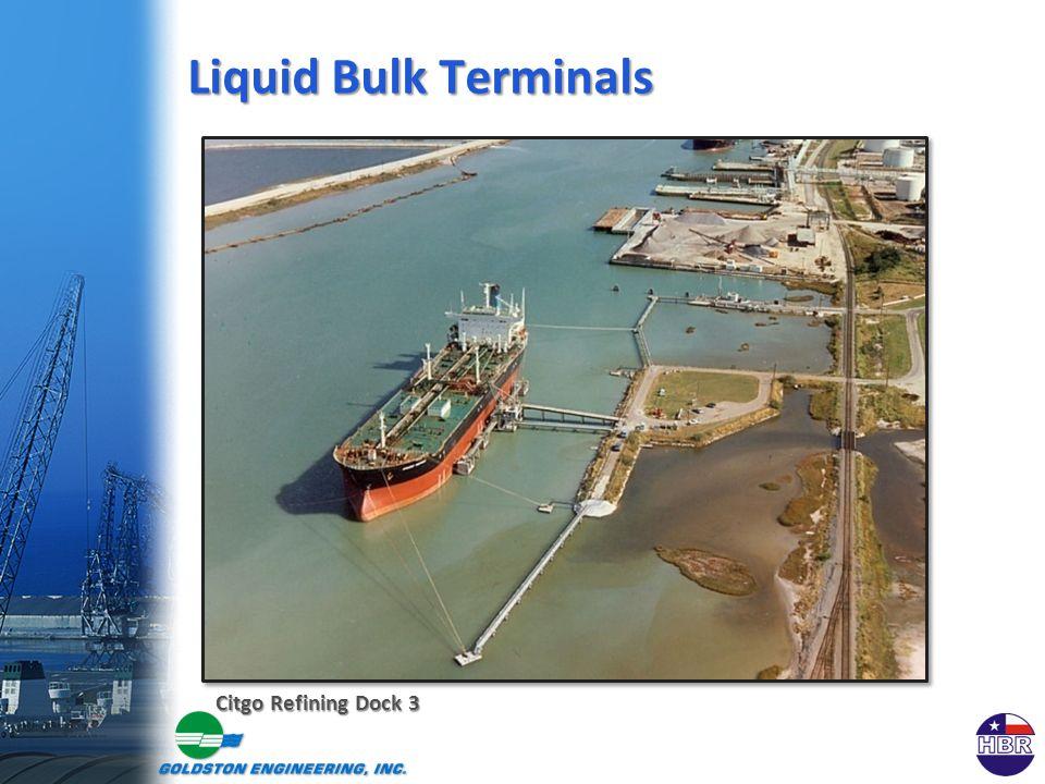 Citgo Refining Dock 3 Liquid Bulk Terminals