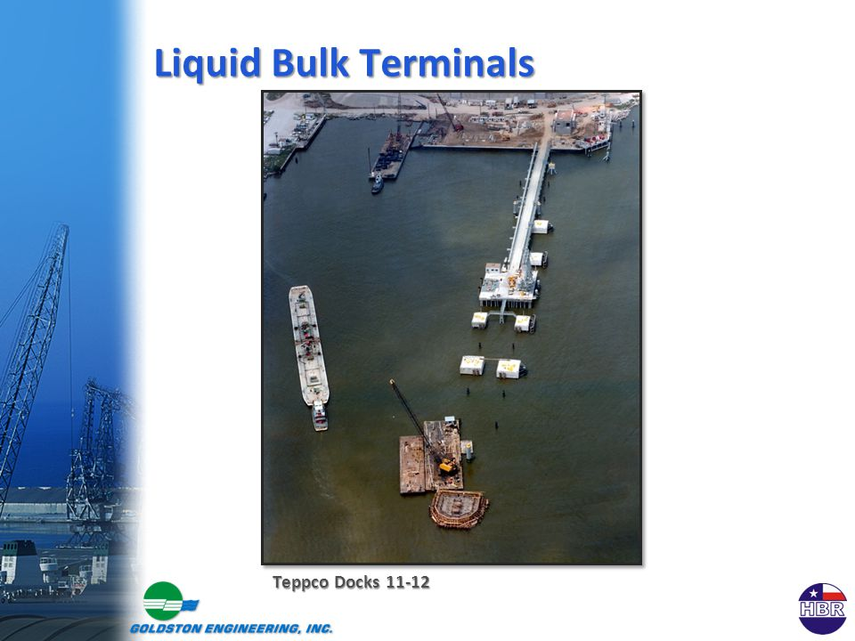 Teppco Docks 11-12 Liquid Bulk Terminals