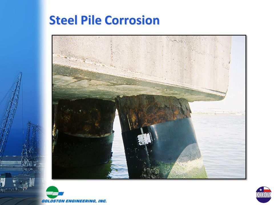 Steel Pile Corrosion