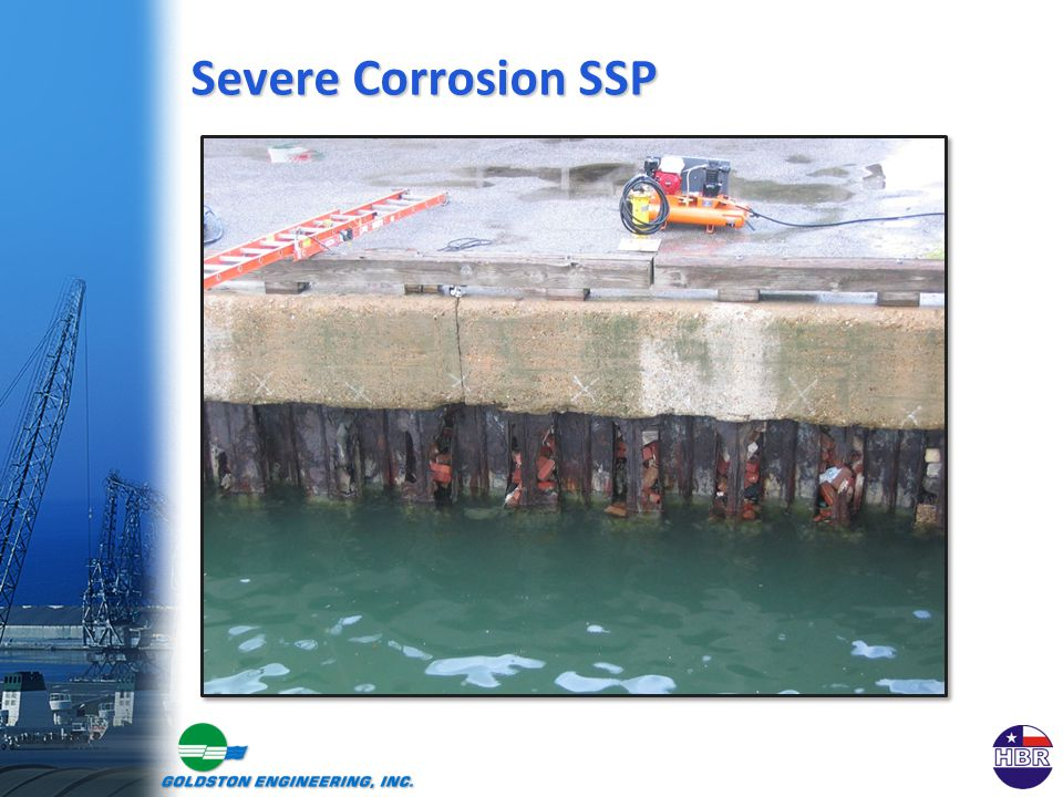 Severe Corrosion SSP