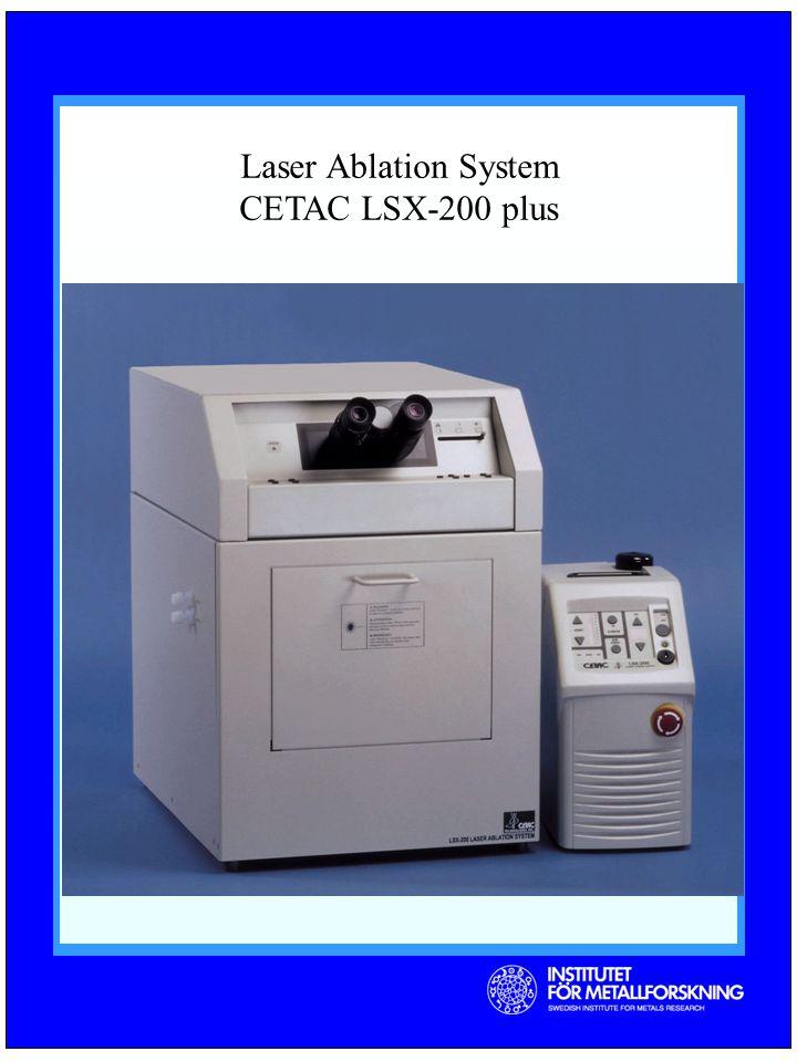 Laser Ablation System CETAC LSX-200 plus