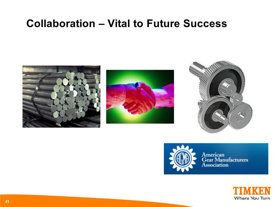 Collaboration – Vital to Future Success 41