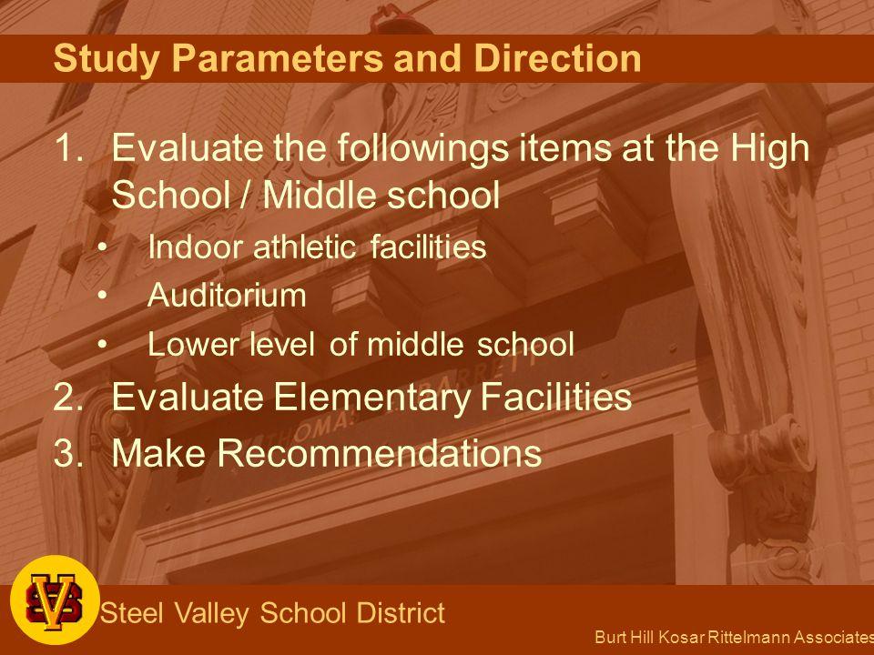 Burt Hill Kosar Rittelmann Associates Steel Valley School District 26 27 28 29 Barrett Elementary