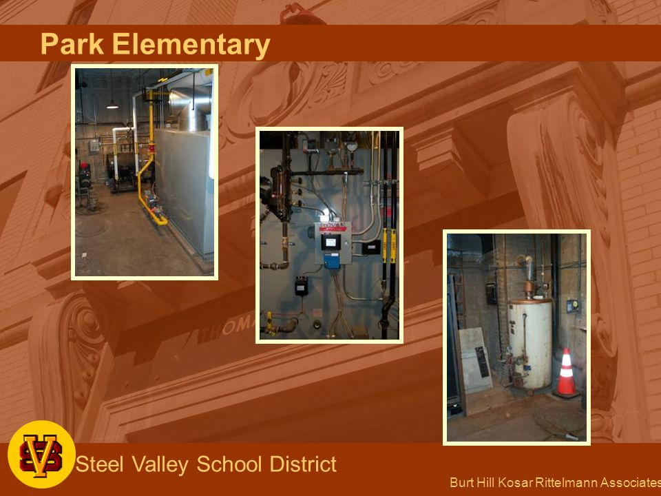 Burt Hill Kosar Rittelmann Associates Steel Valley School District Park Elementary