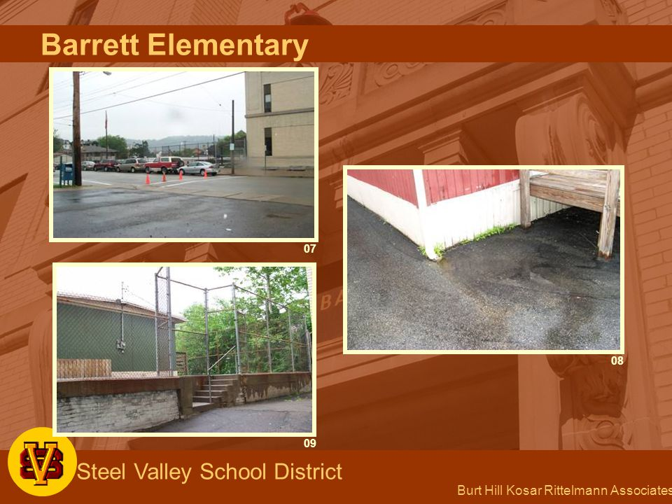 Burt Hill Kosar Rittelmann Associates Steel Valley School District 09 08 07 Barrett Elementary