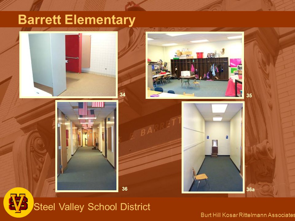 Burt Hill Kosar Rittelmann Associates Steel Valley School District 34 35 36 36a Barrett Elementary