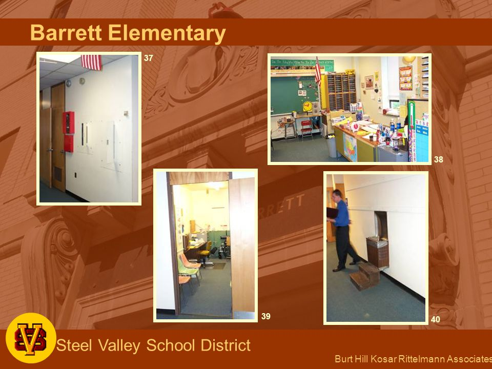 Burt Hill Kosar Rittelmann Associates Steel Valley School District 37 3940 38 Barrett Elementary
