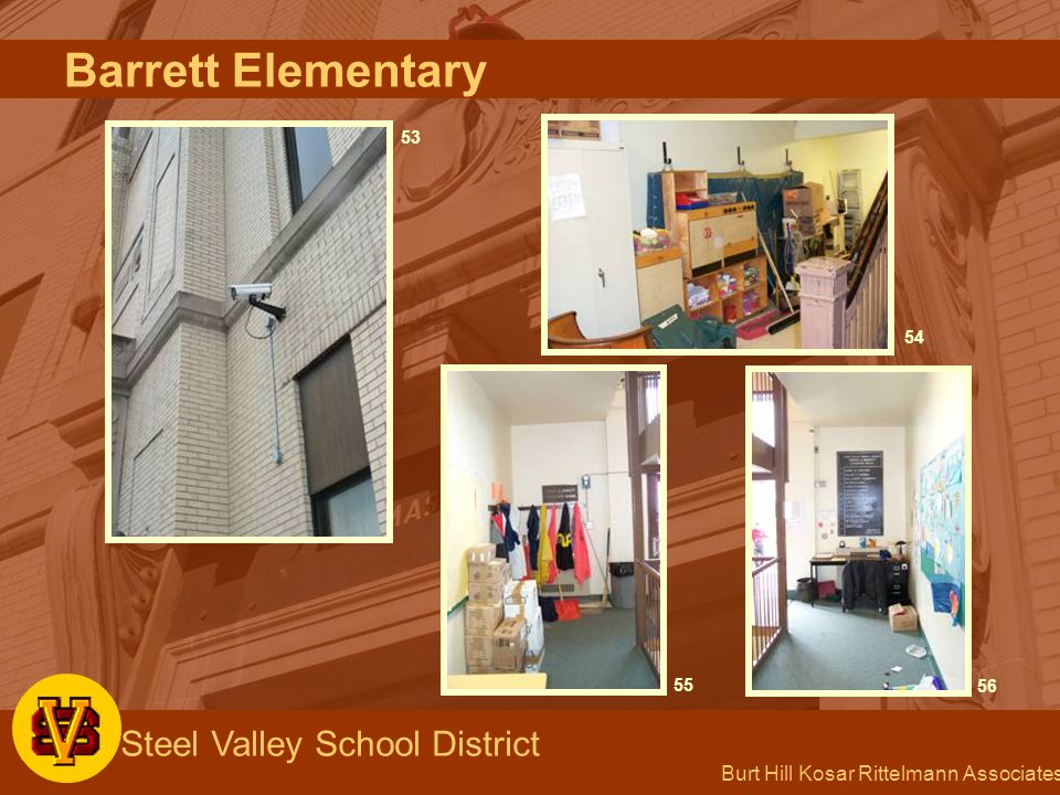 Burt Hill Kosar Rittelmann Associates Steel Valley School District 53 54 5556 Barrett Elementary