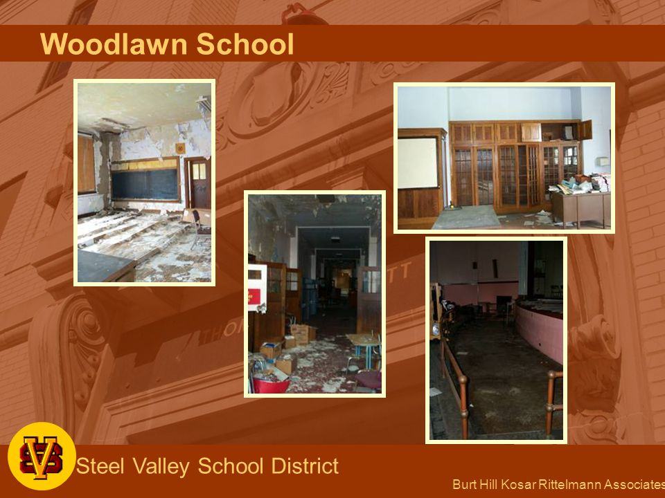 Burt Hill Kosar Rittelmann Associates Steel Valley School District Woodlawn School