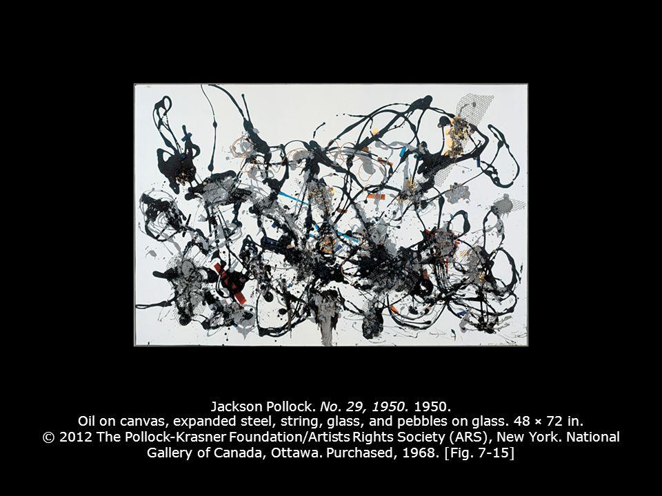 Jackson Pollock. No. 29, 1950. 1950.
