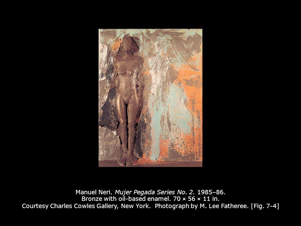 Manuel Neri. Mujer Pegada Series No. 2. 1985–86.