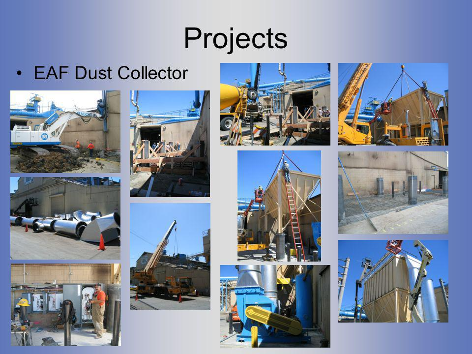 Projects EAF Dust Collector