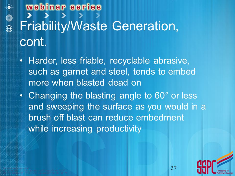 Friability/Waste Generation, cont.