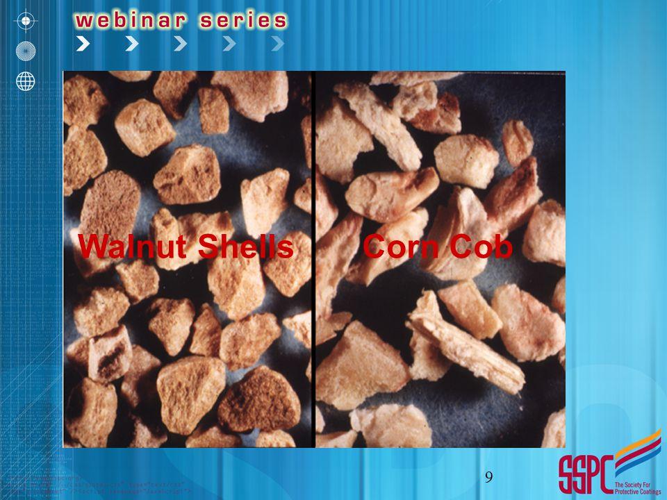 9 Walnut ShellsCorn Cob