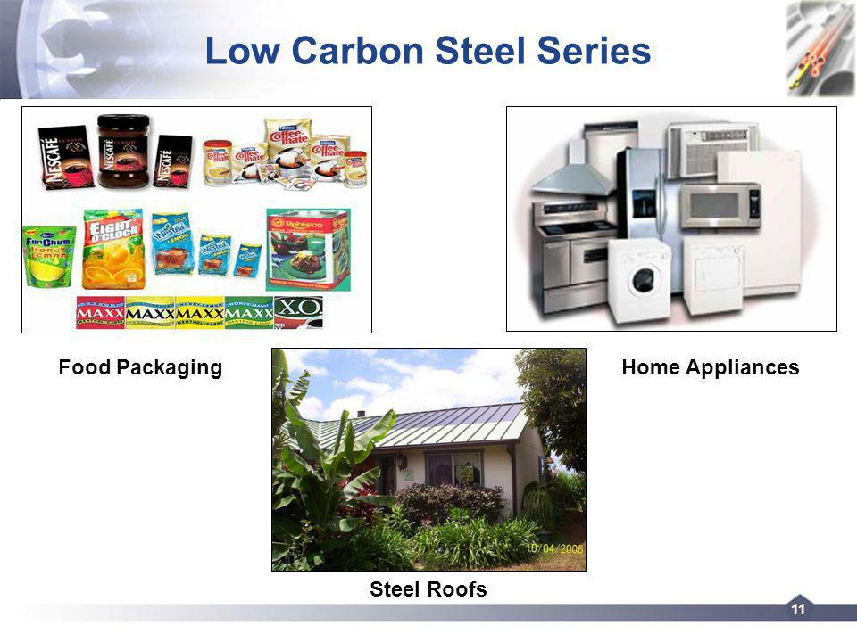 11 Low Carbon Steel Series Food Packaging Steel Roofs Home Appliances