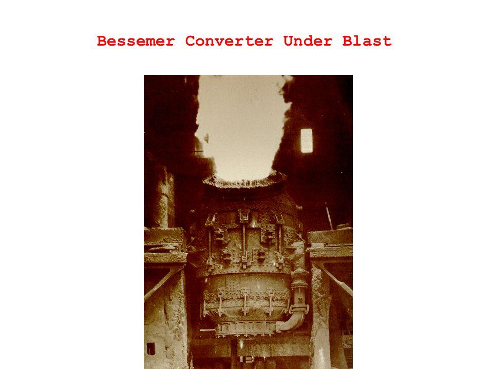 Bessemer Converter Under Blast