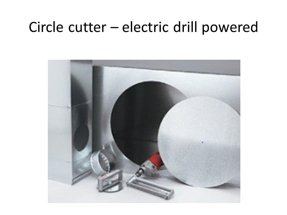 Circle cutter – electric drill powered