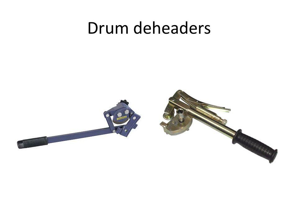 Drum deheaders