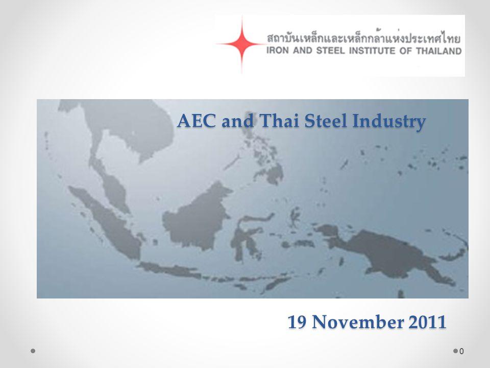 19 November 2011 19 November 2011 AEC and Thai Steel Industry 0