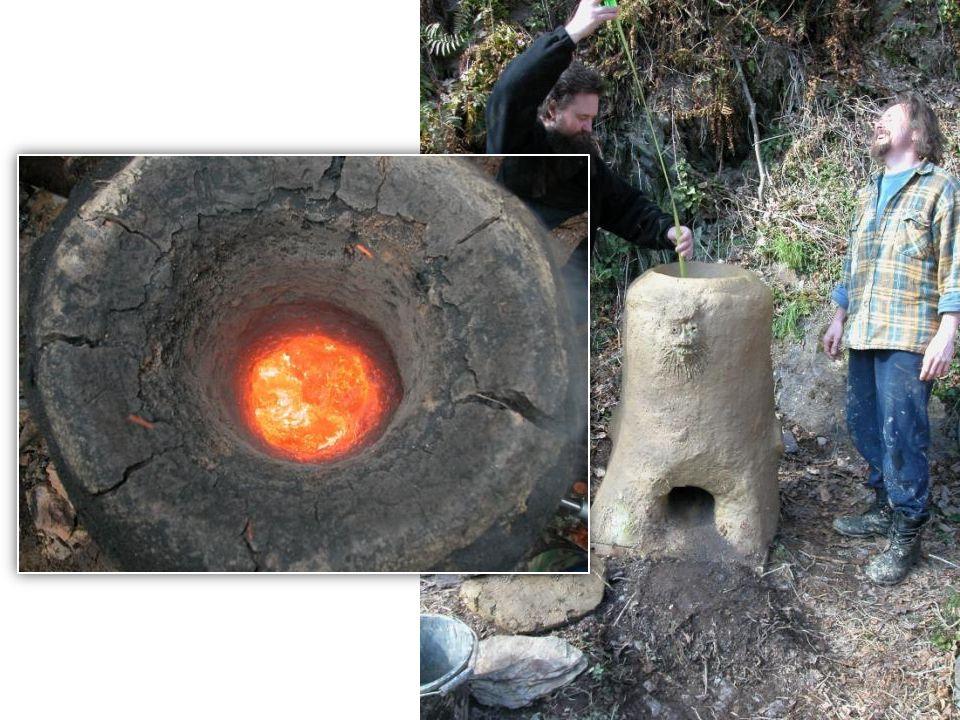 Smelting at night