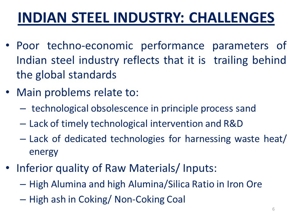 Overview of Blast Furnace(BF) Iron making BF is the oldest and most established and also most efficient process of iron making Over 90% of total iron produced in the world comes from BF process Blast Furnace essentially requires coke made from cooking coal.