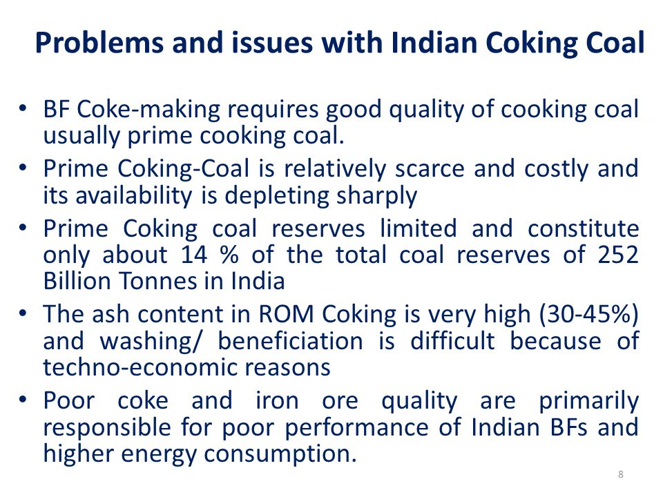 Development of Alternative technlogies/ Practices for substitution of Coking-Coal Pulverised Coal Injection (PCI)/ Coal Dust Injection (CDI) to partially substitute Coking-Coal (Coke) in Blast Furnace by Non-Coking Coal/ other reductants.