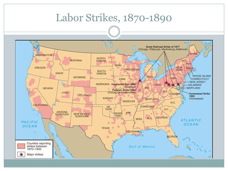 Labor Strikes, 1870-1890