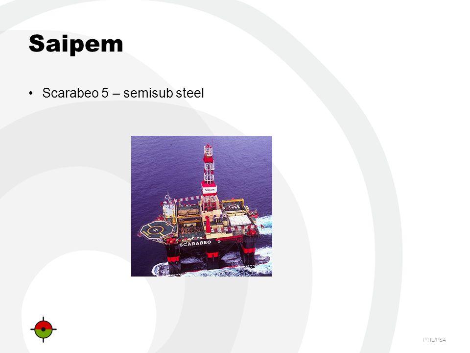 PTIL/PSA Saipem Scarabeo 5 – semisub steel