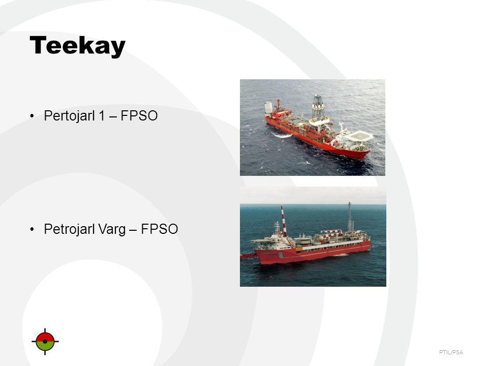 PTIL/PSA Teekay Pertojarl 1 – FPSO Petrojarl Varg – FPSO