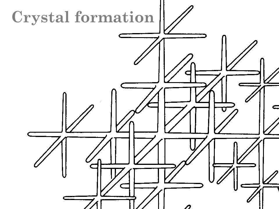 Crystal formation