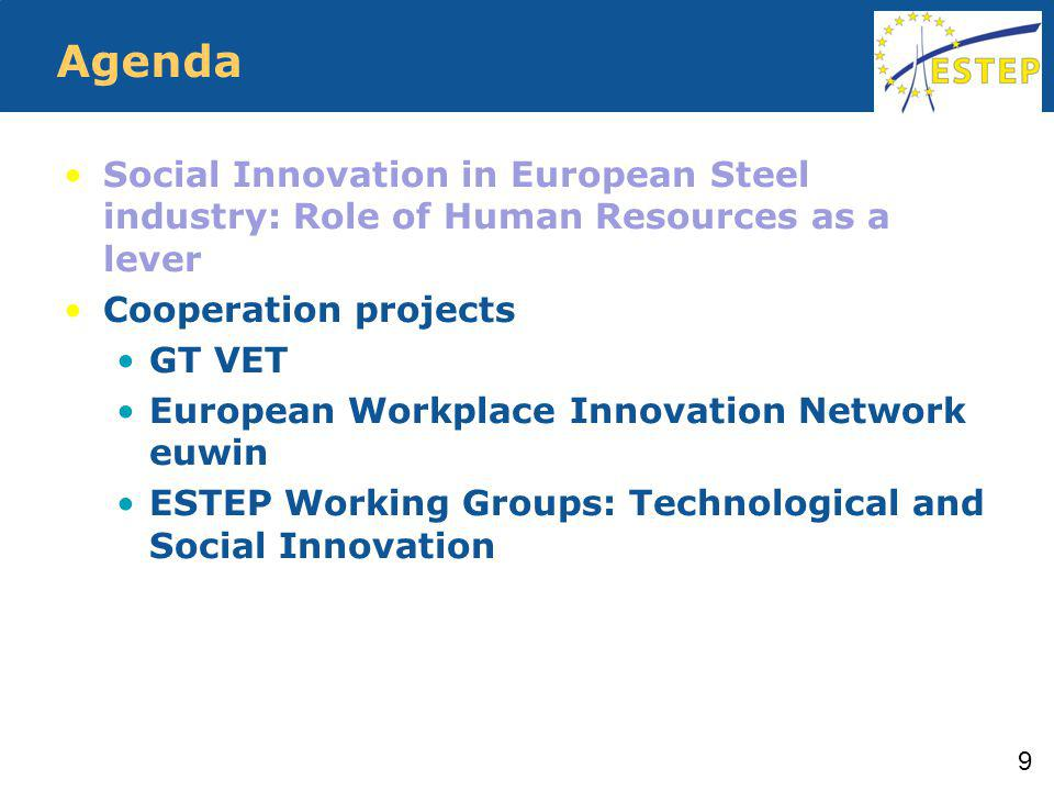 GT VET GT VET Greening Technical VET – Sustainable Training Module for the European Steel Industry Green Skills Training Module of and for the European Steel Industry 10