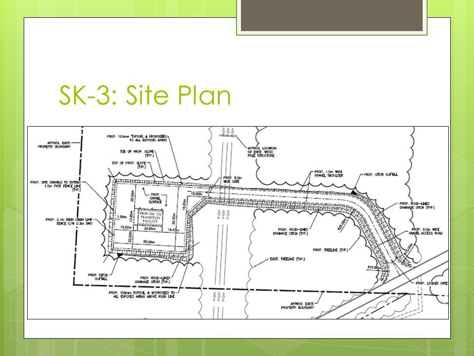 SK-3: Site Plan