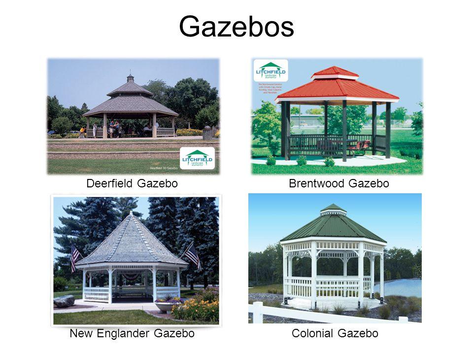 Gazebos Deerfield Gazebo New Englander Gazebo Brentwood Gazebo Colonial Gazebo