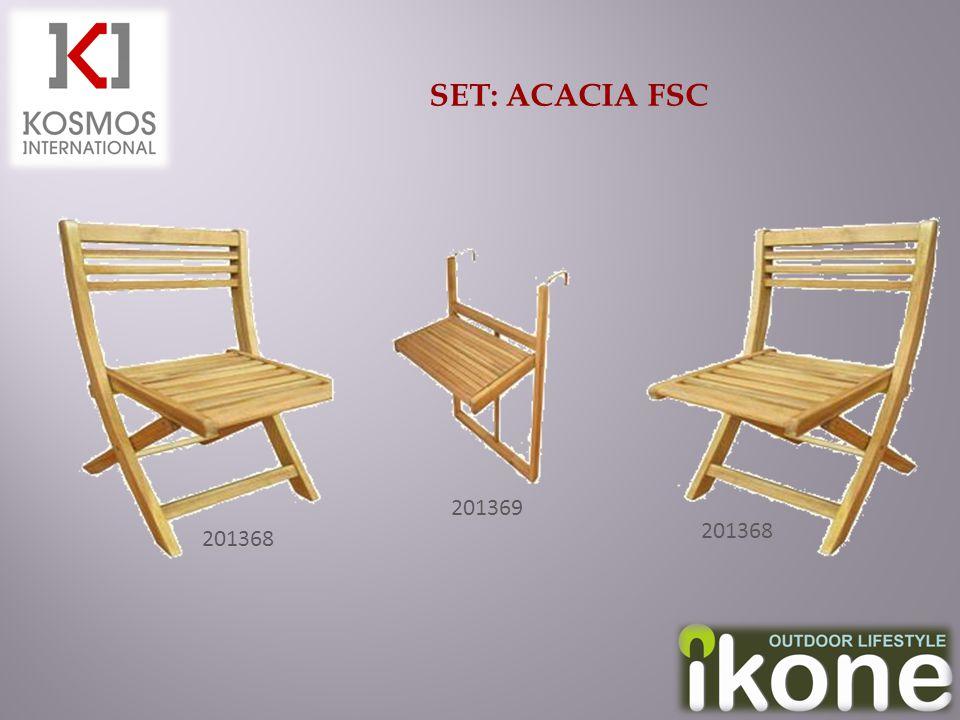 SET: ACACIA FSC 201368 201369 201368