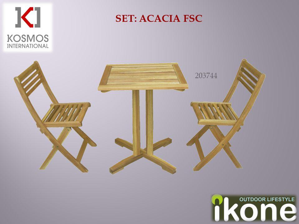 SET: ACACIA FSC 203744
