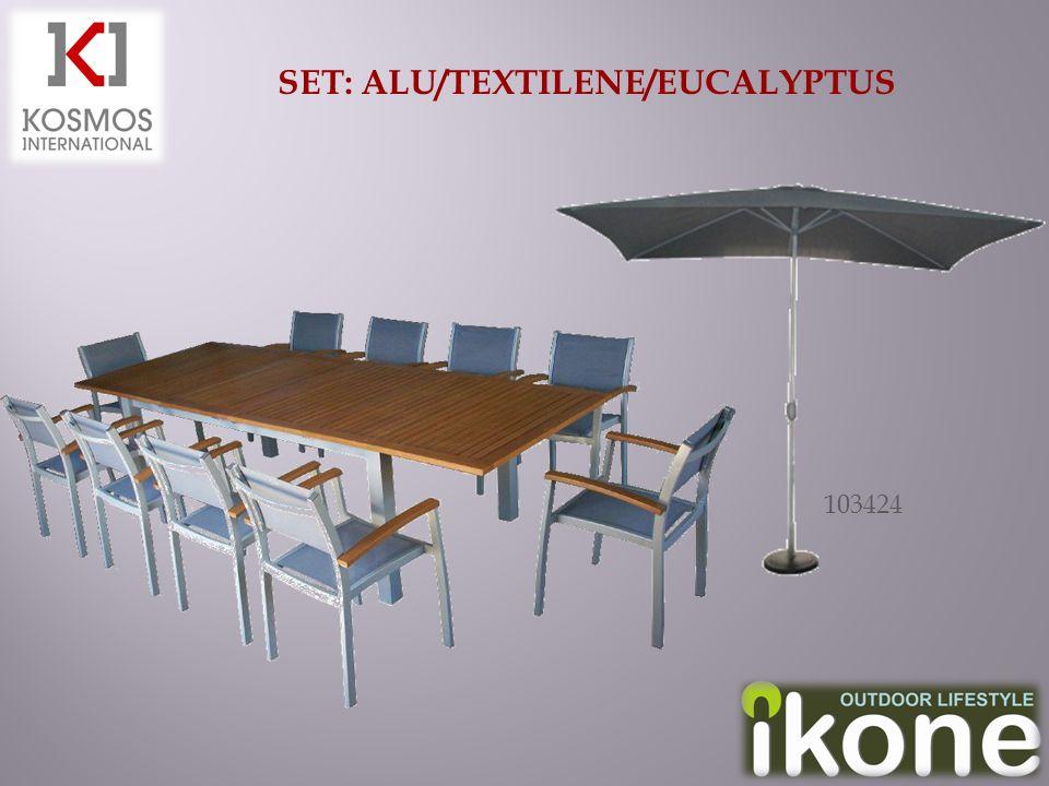 SET: ALU/TEXTILENE/EUCALYPTUS 103424