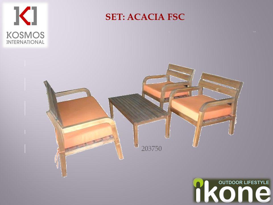 SET: ACACIA FSC 203750