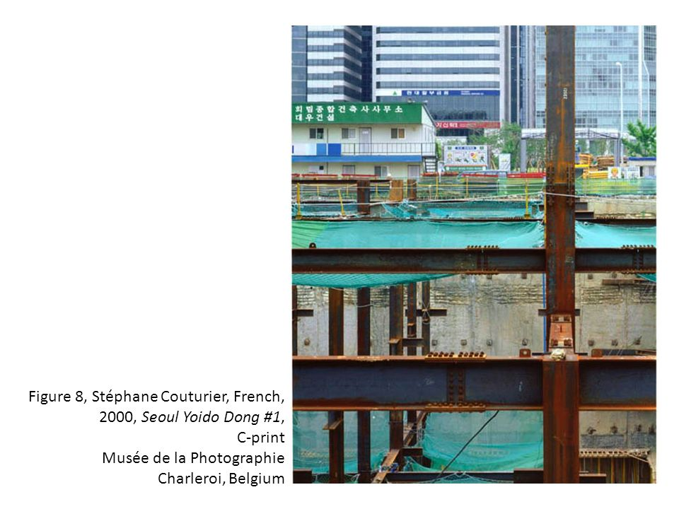 Figure 8, Stéphane Couturier, French, 2000, Seoul Yoido Dong #1, C-print Musée de la Photographie Charleroi, Belgium