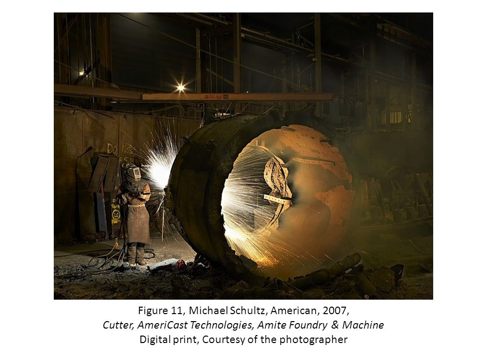 Figure 11, Michael Schultz, American, 2007, Cutter, AmeriCast Technologies, Amite Foundry & Machine Digital print, Courtesy of the photographer