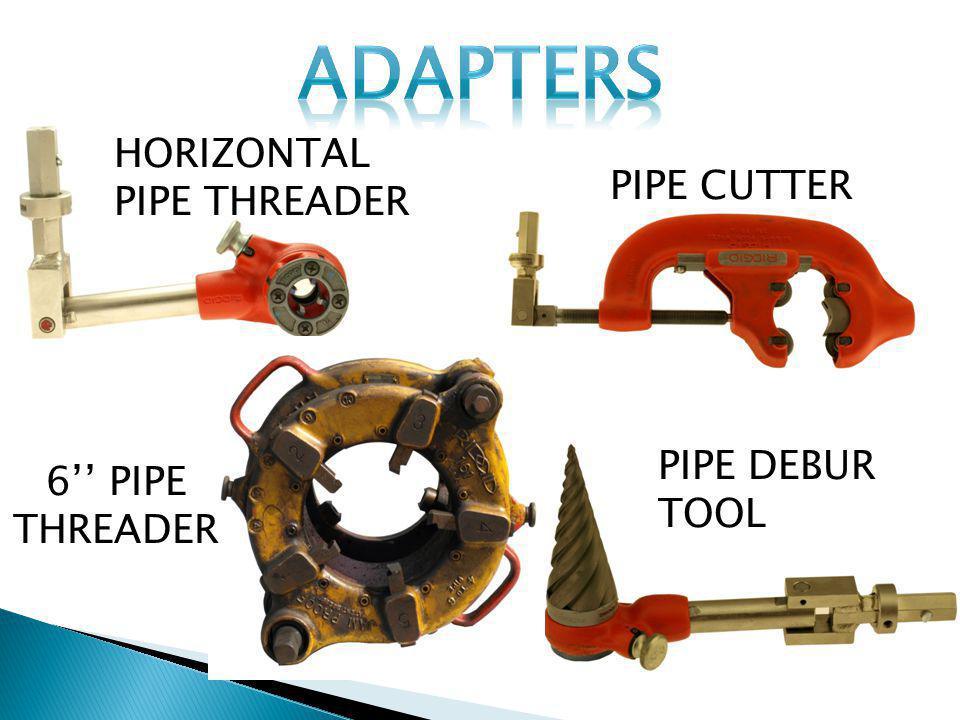 HORIZONTAL PIPE THREADER 6 Pipe Threader Pipe Debur Tool Pipe Cutter PIPE CUTTER 6 PIPE THREADER PIPE DEBUR TOOL