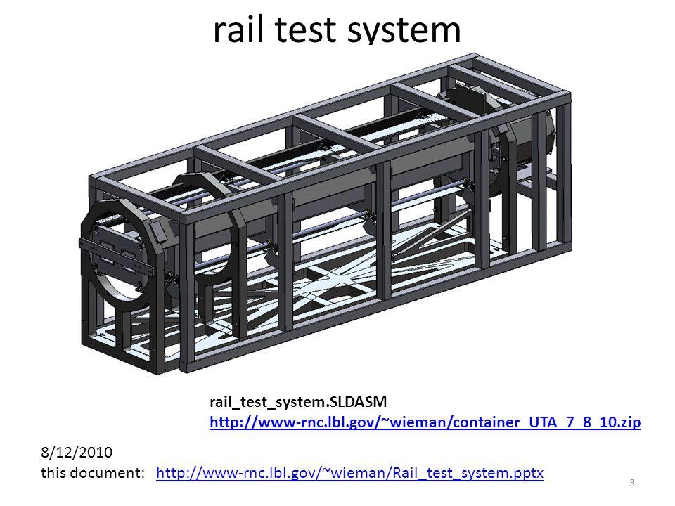 rail test system rail_test_system.SLDASM http://www-rnc.lbl.gov/~wieman/container_UTA_7_8_10.zip 3 8/12/2010 this document: http://www-rnc.lbl.gov/~wieman/Rail_test_system.pptxhttp://www-rnc.lbl.gov/~wieman/Rail_test_system.pptx