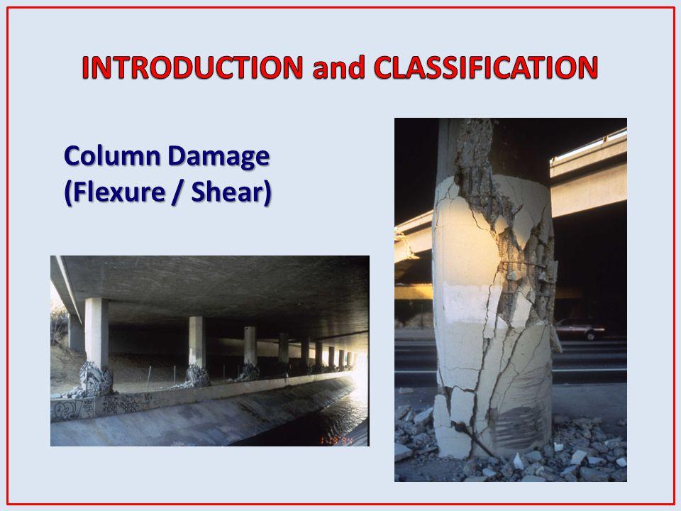 Column Damage (Flexure / Shear)