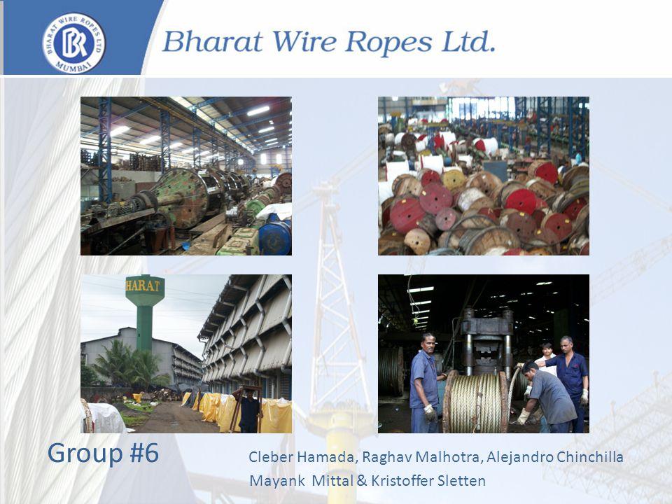 Group #6 Cleber Hamada, Raghav Malhotra, Alejandro Chinchilla Mayank Mittal & Kristoffer Sletten