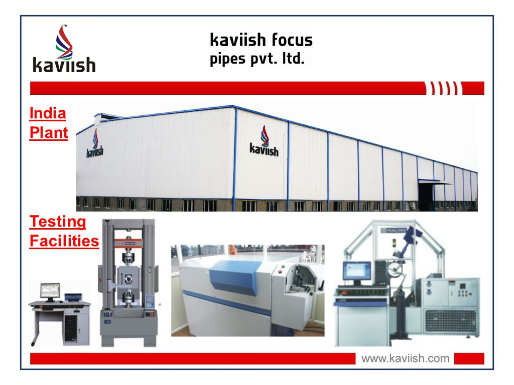 India Plant Testing Facilities